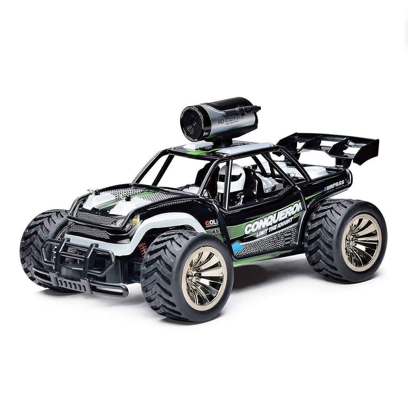 意識的オーストラリアマットMolySun ラジコンカー WIFI機能搭載 空撮カメラ付き リモコンカー 車 リアルタイム伝送 2.4G high-高速 1:16 model バッテリー付き 操作簡単 緑