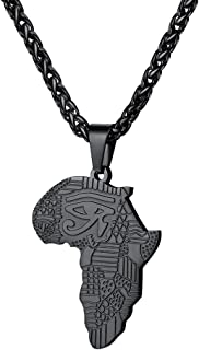 Style magnifique meilleure sélection de codes promo Amazon.fr : Pendentif Afrique - Homme : Bijoux
