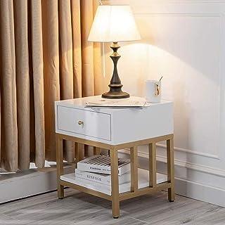 GCX- Table de chevet en bois massif armoire à tiroirs avec capacité portante fort for chambre, bureau, etc. La mode (Color...