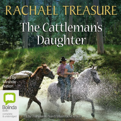 The Cattleman's Daughter audiobook cover art