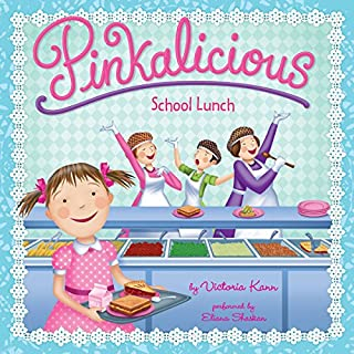 Pinkalicious: School Lunch audiobook cover art