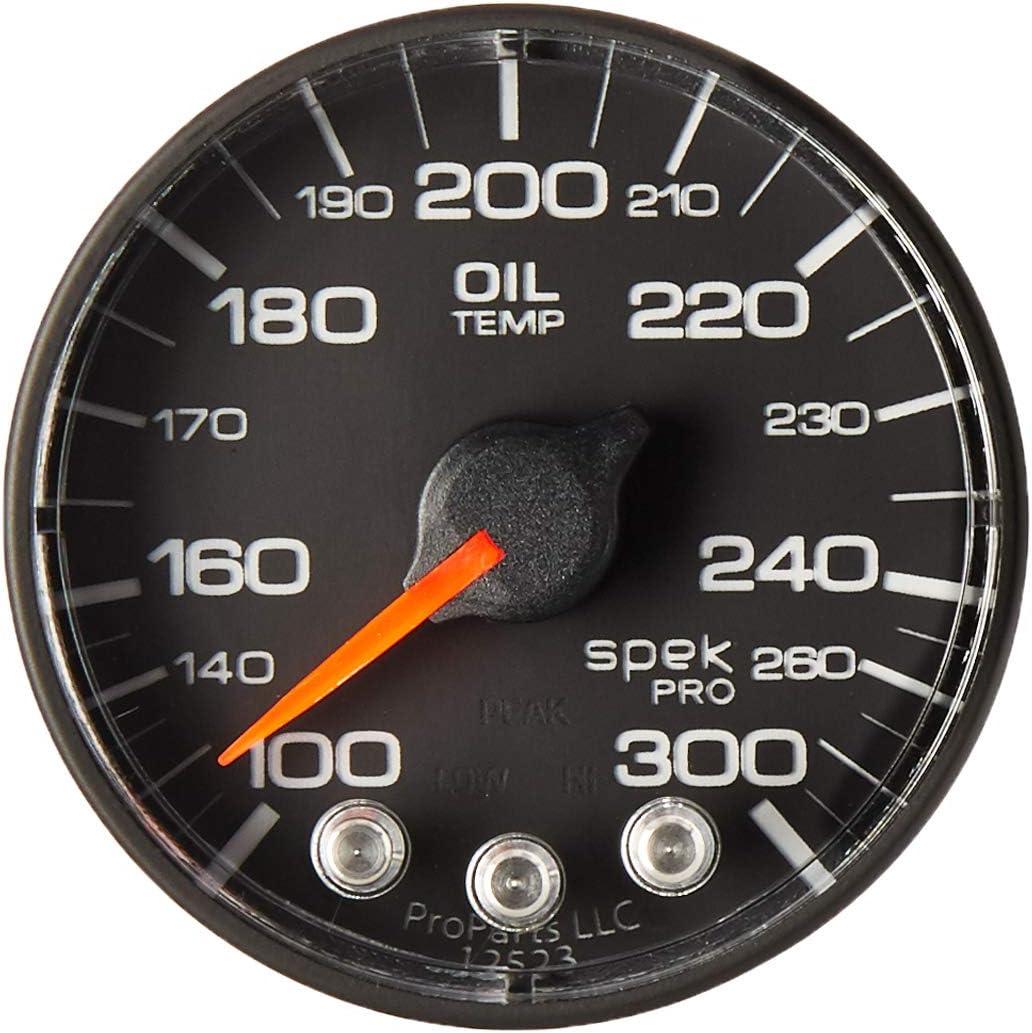 AUTO METER P322324 Gauge Max 84% OFF Oil Temp 1 Max 56% OFF Spek-Pro S 2 300ºf 16