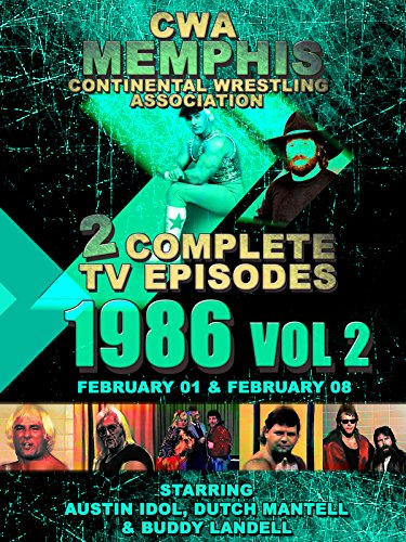 CWA Memphis Wrestling 2 Complete TV Episodes 1986 Vol 2 [OV]
