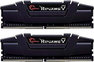 G.Skill RipJaws V Series 16GB (2 x 8GB) 288-PiC4-28800 DDR4 3600 CL16-19-39 1.35V نموذج ذاكرة مكتب مزدوج القناة F4-3600C16D-16GVKC