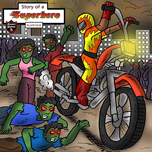 Story of a Superhero audiobook cover art