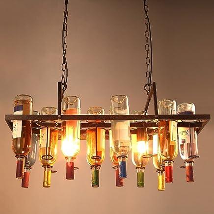 Amazon.es: Lamparas Botellas - Iluminación colgante ...