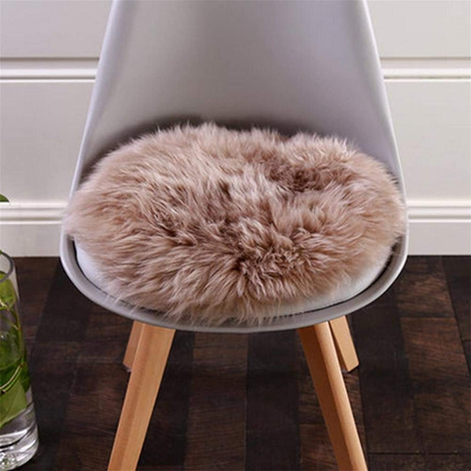 Royare Home Decorations mat Rugs, Soft Fluffy Faux Chair Cover Hairy Washable Carpet Non Slip Mats