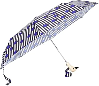 Shopbop @Home Original Duckhead Compact Umbrella, Polkastripe, Blue, Stripe, One Size
