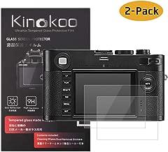 kinokoo Pellicola in vetro temperato per Leica M-Monochrom Clear Screen Pellicola per Leica MMonochrom Senza bolle/Antigraffio (2 pezzi)
