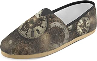 Artsadd Fashion Women's Loafers The Burning Guitar Classic Casual Slip-on Canvas Shoes Sneakers Flats
