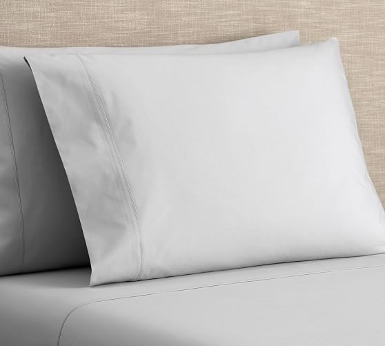 PB Classic 400-Thread-Count Organic Sheet Set | Pottery Barn