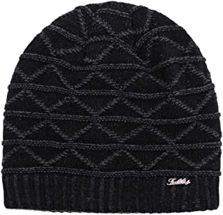 Letter Knit hat Winter New Thick Warm hat Outdoor Leisure Windproof Riding hat