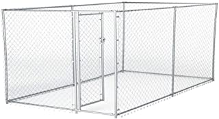 Lucky Dog Galvanized Chain Link Kennel