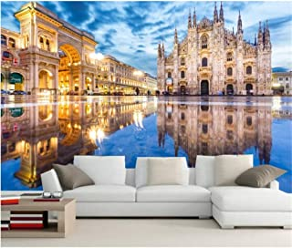 xbwy Custom 3D Murals,Italy Milan Street Arch Town Square City Photo Wallpaper,Living Room Sofa Tv Wall Bedroom Restaurant Wallpapers-150X120Cm