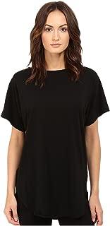 Y's by Yohji Yamamoto Women's U-Gusseted T-Shirt, Black, 2 (MD)