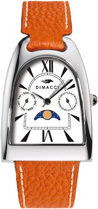 Orologio dimacci orologio da polso con fasi lunari 4051489681224