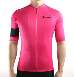 Racmmer Mens Breathable Short Sleeve Cycling Jersey Bike Shirt Cycling  Clothing 595c7a19e