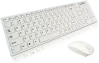 sdfghzsedfgsdfg 2,4 g ultratunn trådlös plattskärm tangentbord och mus set optiskt tangentbord och mus kontor tillägnad