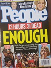 People Magazine (August 19 2019) 13 hours,31 Dead Enough