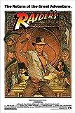 "Kopoo Raiders of The Lost Ark - Movie Poster (1982 Re-Release), 12"" x 18"" (297 x 450 mm)"