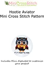 Hootie Aviator Mini Cross Stitch Pattern