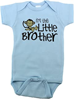 i m the little brother onesie