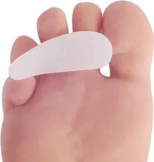 Dr. Frederick's Original Hammer Toe Cushions - 2 Hammertoe Gel Pads - Claw Toe - Temporary Corrector - Great for Diabetic Feet