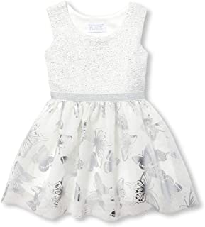 Men's Baby Girls Special Occasion Printed Dress