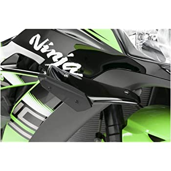 Honda CBR1000RR 17-18 Black Puig Side Spoiler Downforce 9738N for Kawasaki ZX10R 16-19