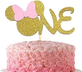 Pleasant Best Minnie Mouse Birthday Cakes For One Year Old Of 2020 Reviews Funny Birthday Cards Online Kookostrdamsfinfo
