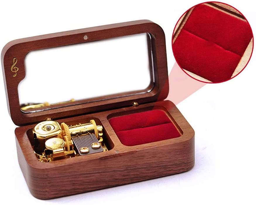 Max 45% OFF Music Box New popularity Desktop Decorative Wooden Vale Box,Musical