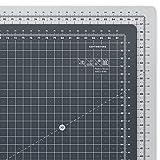 ARTEZA Schneidematte, 90 x 60 cm, 3 mm dick, selbstheilende Schneideunterlage, doppelseitig für Rollschneider, zum Nähen, Quilten und Basteln