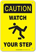 Caution Watch Your Step Safety Sign - 10