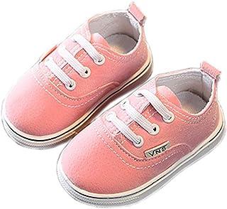 [テンカ] ベビーシューズ スニーカー 子供靴 キッズ 運動靴 通学靴 クッション性 屈曲性 歩きやすい 軽量 赤ちゃん 日常履き 履き脱ぎやすい 柔らかい 男の子 女の子 プレゼント 通気 軽量