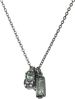 Charm Pendant Necklace 18""