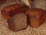 Bio Demeter Lebenskeimbrot – Dinkelkeimbrot aus gekeimten Bio Dinkel – gebacken ohne Weizenmehl, Hefe und Sauerteig – qualitativ hochwertiges und eiweißreiches Dinkelbrot – Inhalt: 500 Gramm Dinkelvollkornbrot