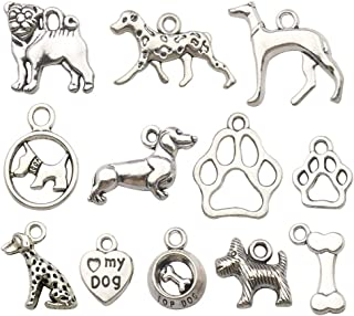 pewter dog breed charms