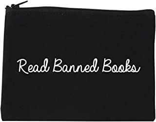 Read Banned Books Cosmetic Makeup Bag