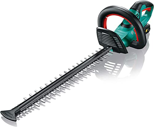 Taille-Haies sans fil Bosch - AHS 50-20 LI (1 batterie 18 V 2,5 Ah, 1 Chargeur, Longueur de lame 50 cm)