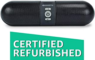 (Renewed) Amkette Trubeats iGO Portable Bluetooth Speaker with inbuilt mic and FM-Black