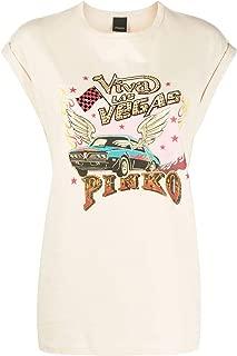 Pinko Luxury Fashion Womens 1G14RHY5BDC22 Beige T-Shirt |