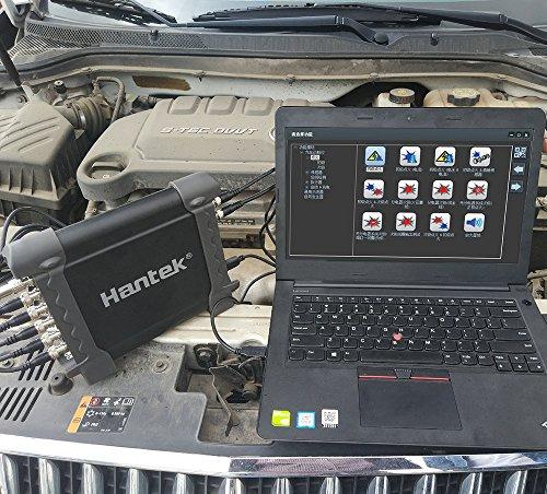 Hantek 1008C 8CH PC USB de diagnóstico automotriz DAQ programa multifunción generador osciloscopio