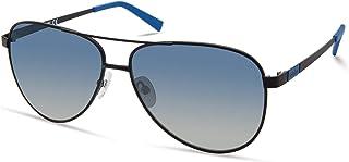 نظارة تمبرلاند TBA9267 بولاريزد بايلوت الشمسية، أسود مطفي، 60 ملم