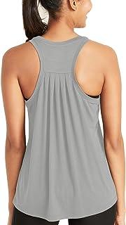 Bestisun Workout Tops for Women Loose fit Racerback Tank...