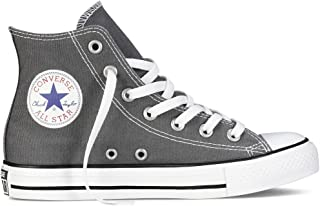 Unisex Chuck Taylor All Star High Top (7 D(M) Men = 9 B(M) Women, Charcoal)