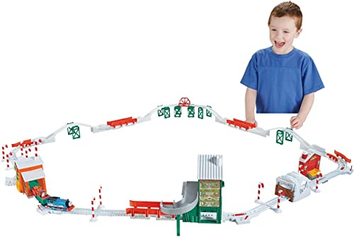 Fisher-Price Thomas the Train TrackMaster Holiday Cargo Delivery Set [Amazon Exclusive] by Fisher-Price