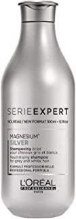 LOreal Paris Serie Expert Silver Shampoo by LOreal Professional for Unisex - 10.1 oz Shampoo, 298.66 milliliters