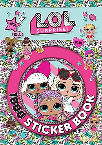 LOL Surprise! 1000 Sticker Book