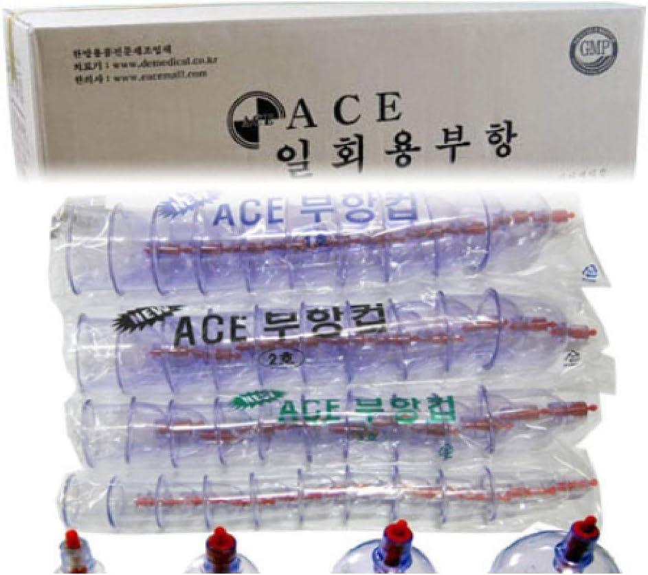 Korea ACE DE Disposable Massage 1000PCS Plastic Siz Luxury Excellence goods Suction Cups