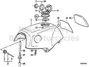 BMW Genuine Motorcycle Fuel Tank Gasket Ring K1 K100RS K1100LT K1100RS K75 K75C K75RT K75S K100 K100LT K100RS K100RT